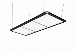 Lampy LED Black/White 195x70x65cm